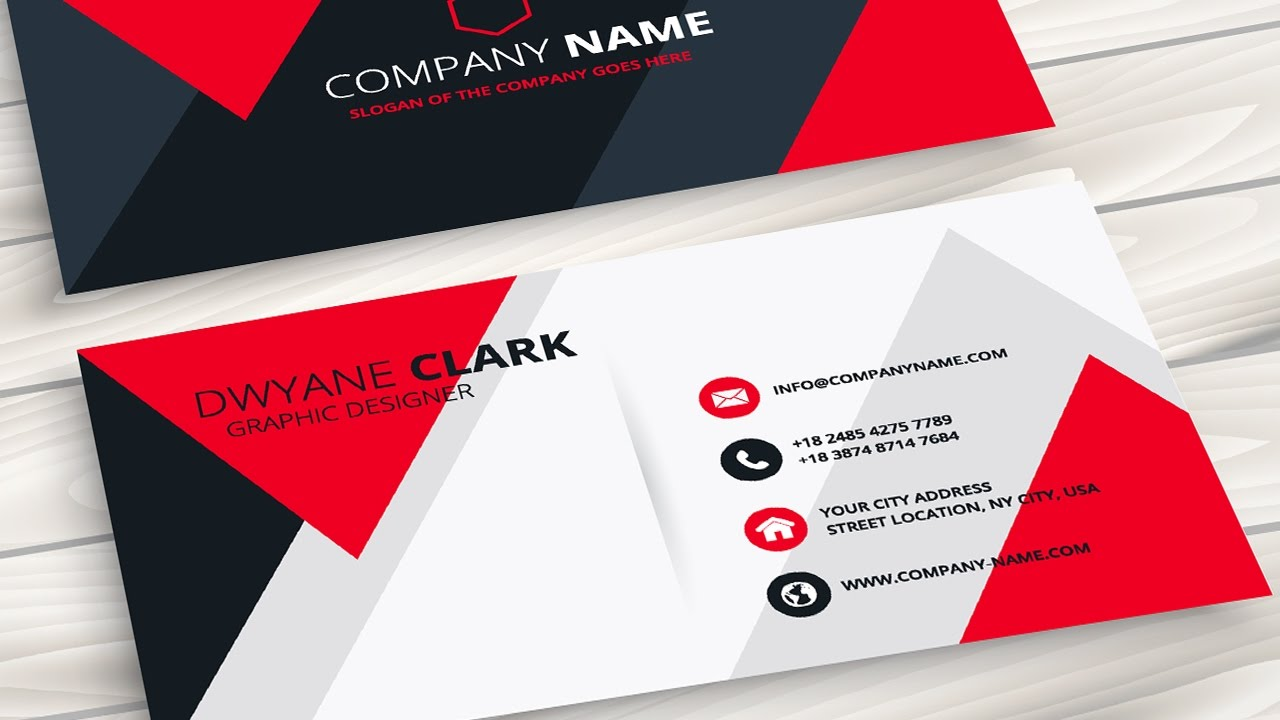 Putting Your Face on a Business Card